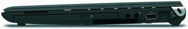 Toshiba Portege R700 Laptop - Right Side