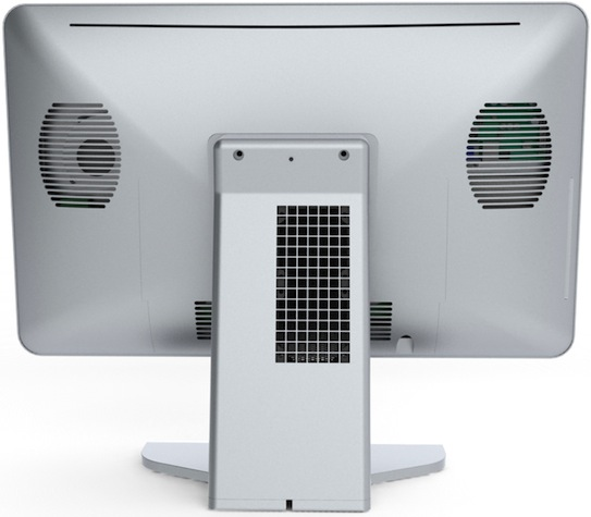 Asetek Liquid Cooled All-In-One Desktop PC - Back