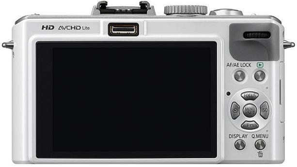Panasonic DMC-LX5 Lumix Digital Camera - Back