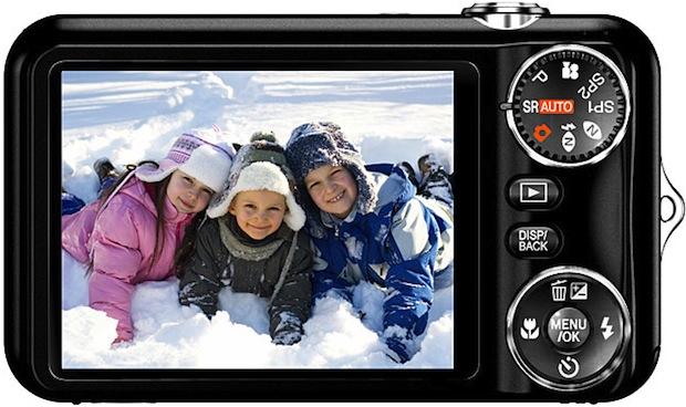 FujiFilm FinePix JX280 Digital Camera - back