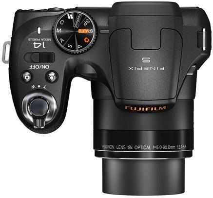 FujiFilm FinePix S2800HD Digital Camera - Top