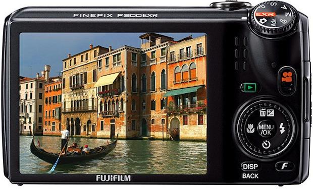 FujiFilm FinePix F300EXR Digital Camera - Back