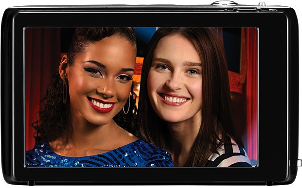 Samsung DualView ST100 Digital Camera - Back