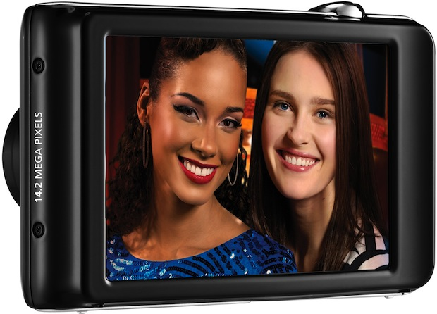 Samsung DualView ST600 Digital Camera - Back
