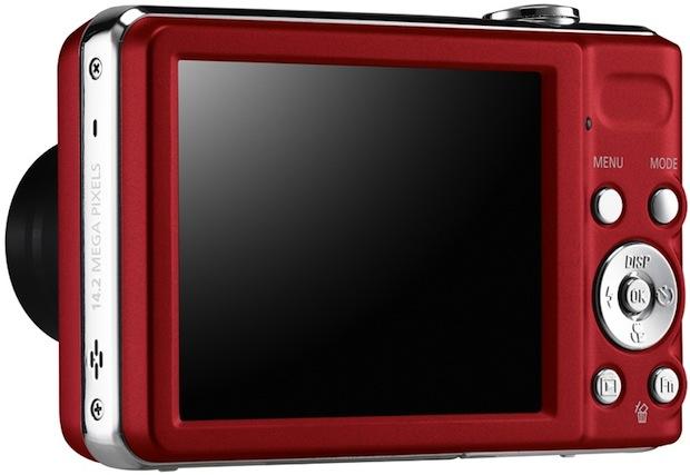 Samsung PL200 Digital Camera - Back