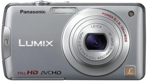 Panasonic DMC-FX700 Lumix Digital Camera - Silver