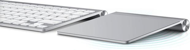 Apple Magic Trackpad with Keyboard