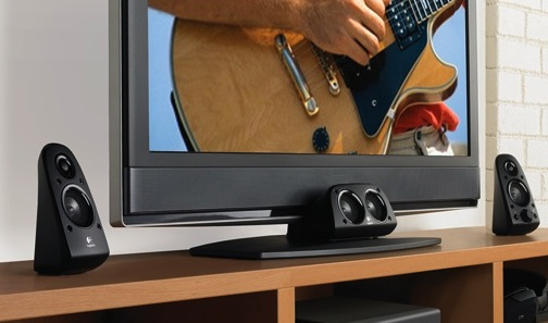 Logitech Z506 Surround Sound 5.1 Speaker System with TV