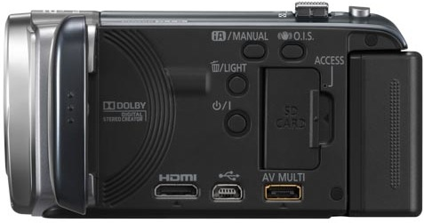 Panasonic HDC-SDX1 Camcorder - side