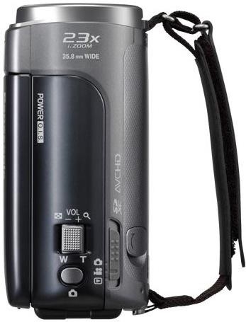 Panasonic HDC-SDX1 Camcorder - top