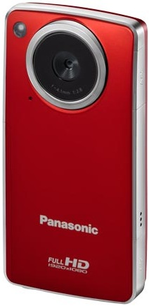 Panasonic HM-TA1R Pocket Camcorder - Front