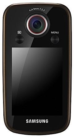 Samsung HMX-E10 Pocket Camcorder Screen