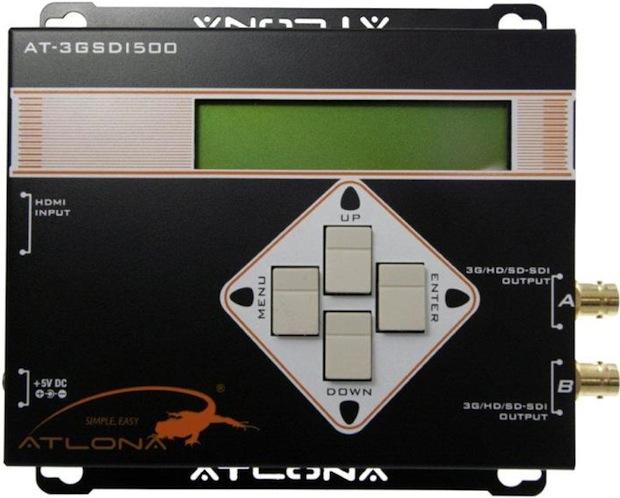 Atlona AT-3GSDI500 3G/HD/SD-SDI Pattern Generator - Top