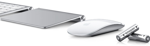 Apple Batteries with Magic Trackpad and Mouse