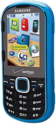 Samsung SCH-U460 Intensity II Cell Phone - Closed Front