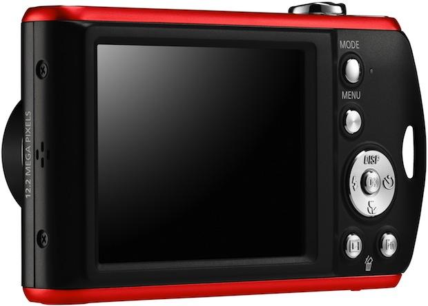 Samsung PL90 Digital Camera - Back