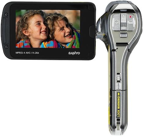 SANYO VPC-CA102YL Xacti Waterproof Digital Camcorder