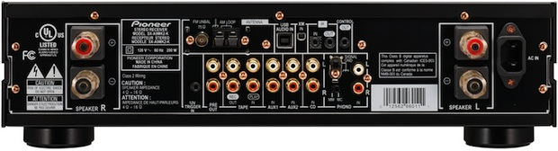 Pioneer Elite G-Clef SX-A9MK2 Integrated Stereo Amplifier - Back