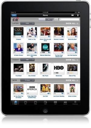 DISH Remote Access app for iPad