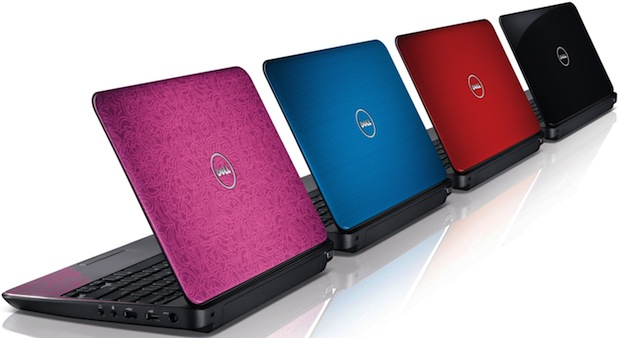 Dell Inspiron M101z Laptop Colors