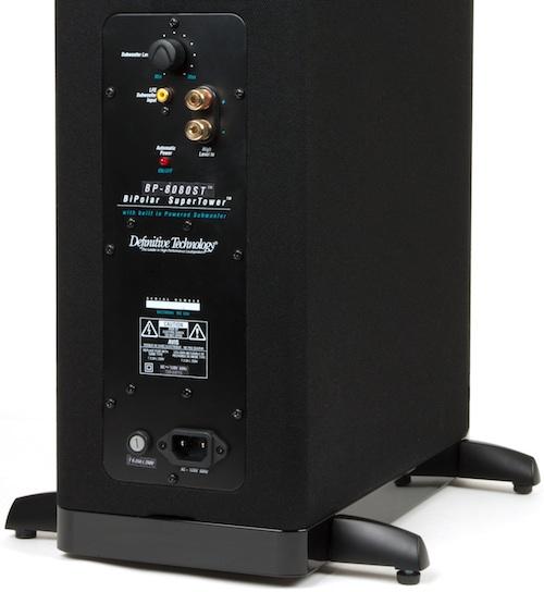 Definitive Technology BiPolar SuperTower Speaker - Rear