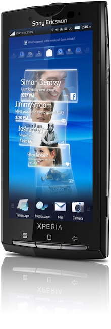 Sony Ericsson Xperia X10 Smartphone