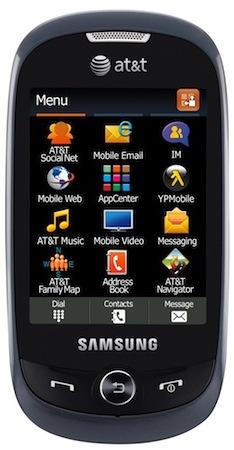 Samsung SGH-A927 Flight II Cell Phone - Front