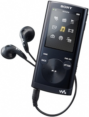Sony Walkman NWZ-E350 Series Video MP3 Players - Black