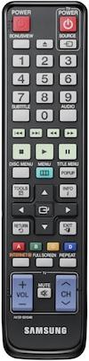 Samsung BD-C6800 3D Blu-ray Player Remote - AK59-00104R