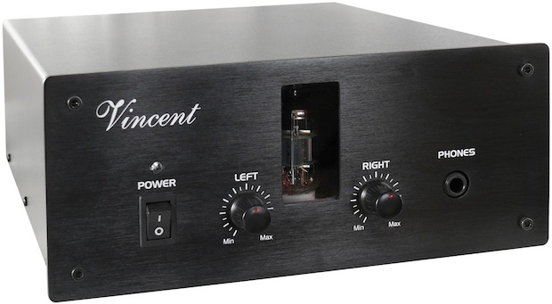 Vincent Audio KHV-111MK Hybrid Tube Headphone Amplifier - Black
