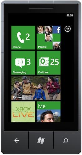 Windows Phone 7 Xbox Live