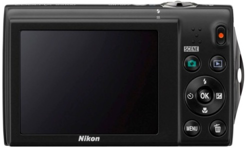 Nikon CoolPix S5100 Digital Camera - Back