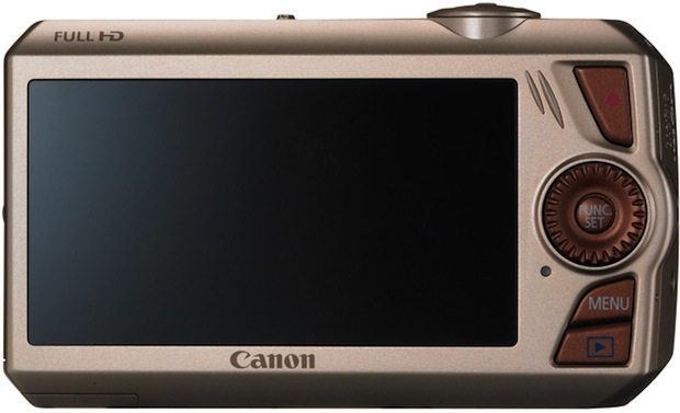 Canon PowerShot SD4500 IS Digital ELPH Camera - Back