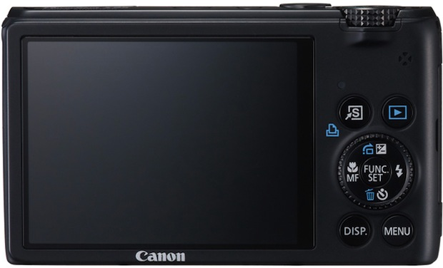 Canon PowerShot S95 Digital Camera - Back