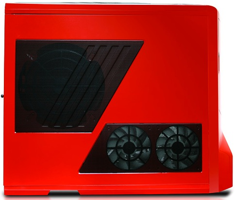 iBUYPOWER Paladin XLC Red Phantom Gaming PC - Side