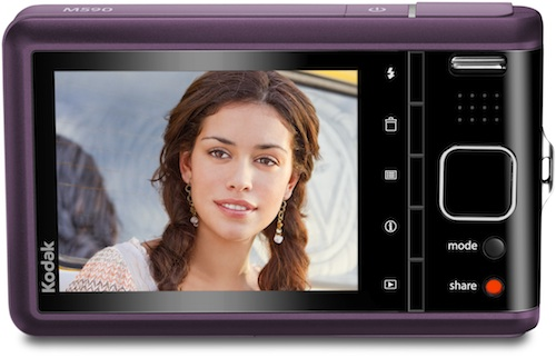 Kodak EasyShare M590 Digital Camera - Purple