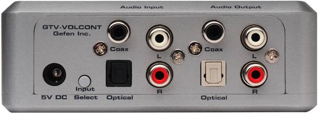 GefenTV Auto Volume Stabilizer - Back Ports
