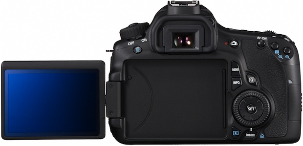 Canon EOS 60D Digital SLR Camera - Back LCD