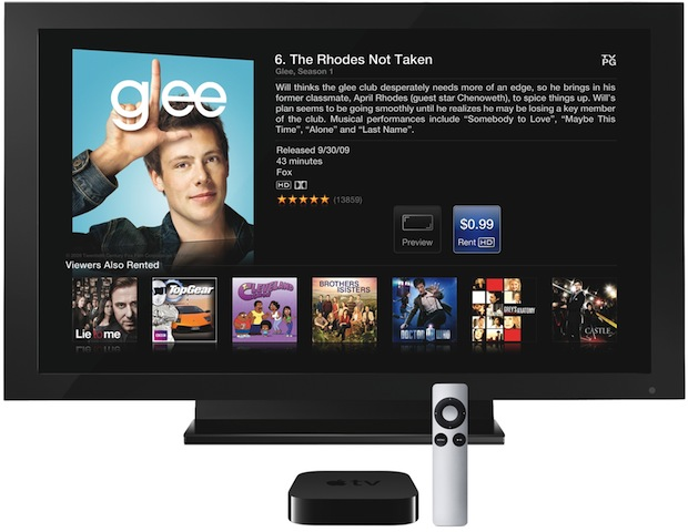 Apple TV Media Player / Streamer with TV