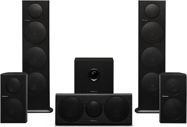 Pioneer home theater and music speaker line
