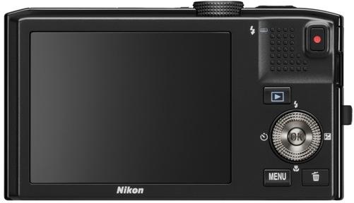Nikon CoolPix S8100 Digital Camera - Back