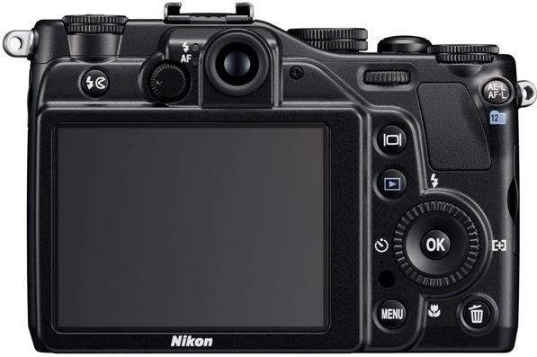 Nikon CoolPix P7000 Digital Camera - Back