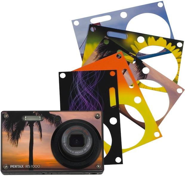 Pentax Optio RS1000 Digital Camera with Skins