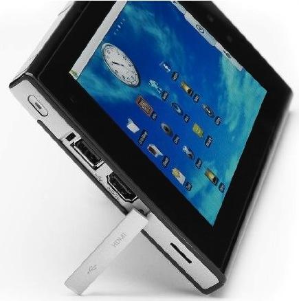 eLocity A7 Internet Tablet Ports