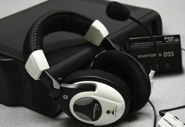 Turtle Beach Ear Force DX11 Gaming Headset Bundle