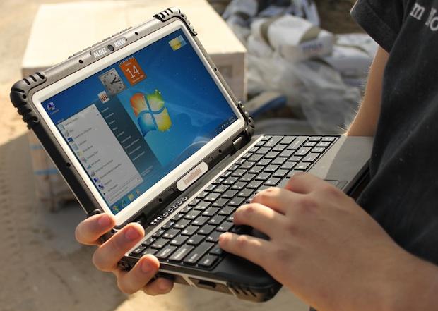 Handheld Group Algiz XRW Rugged Notebook