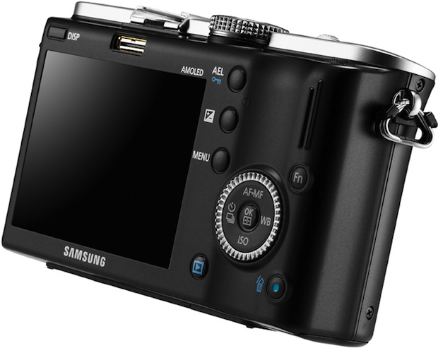 Samsung NX100 Digital Camera - Back