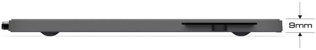 EchoStar Ultra Slimline DVR - Side