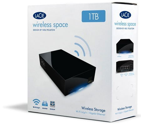 LaCie Wireless Space - Packaging