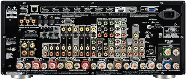 Integra DTR-80.2 THX Ultra2 Plus A/V Receiver - Back